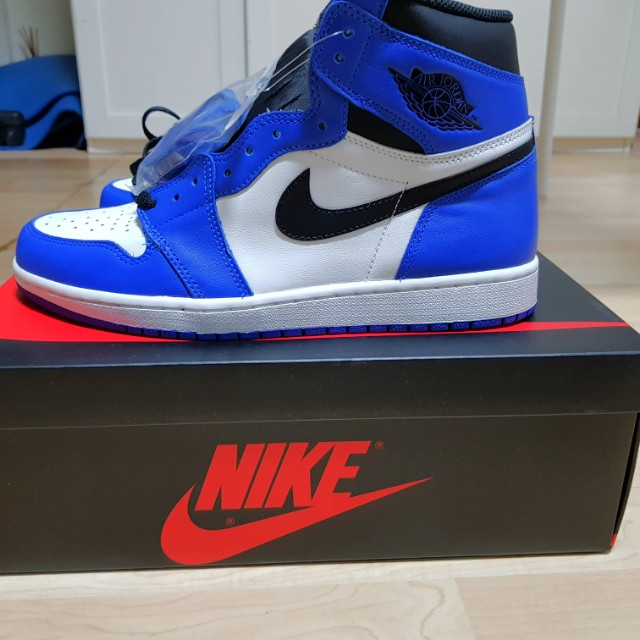 dfbba5a233e25c  STEAL  Nike Air Jordan 1 Retro High OG Royal Blue on Carousell