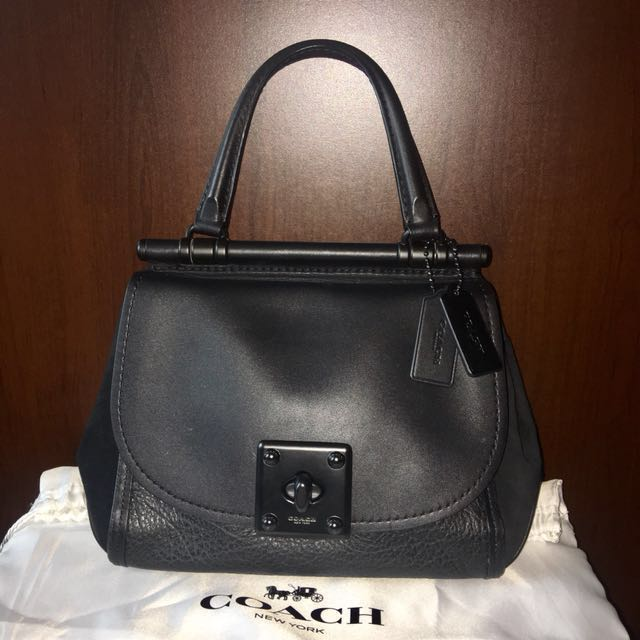 416643fa2d ... store coach drifter top handle satchel in mixed leather bag luxury bags  18961 6872a