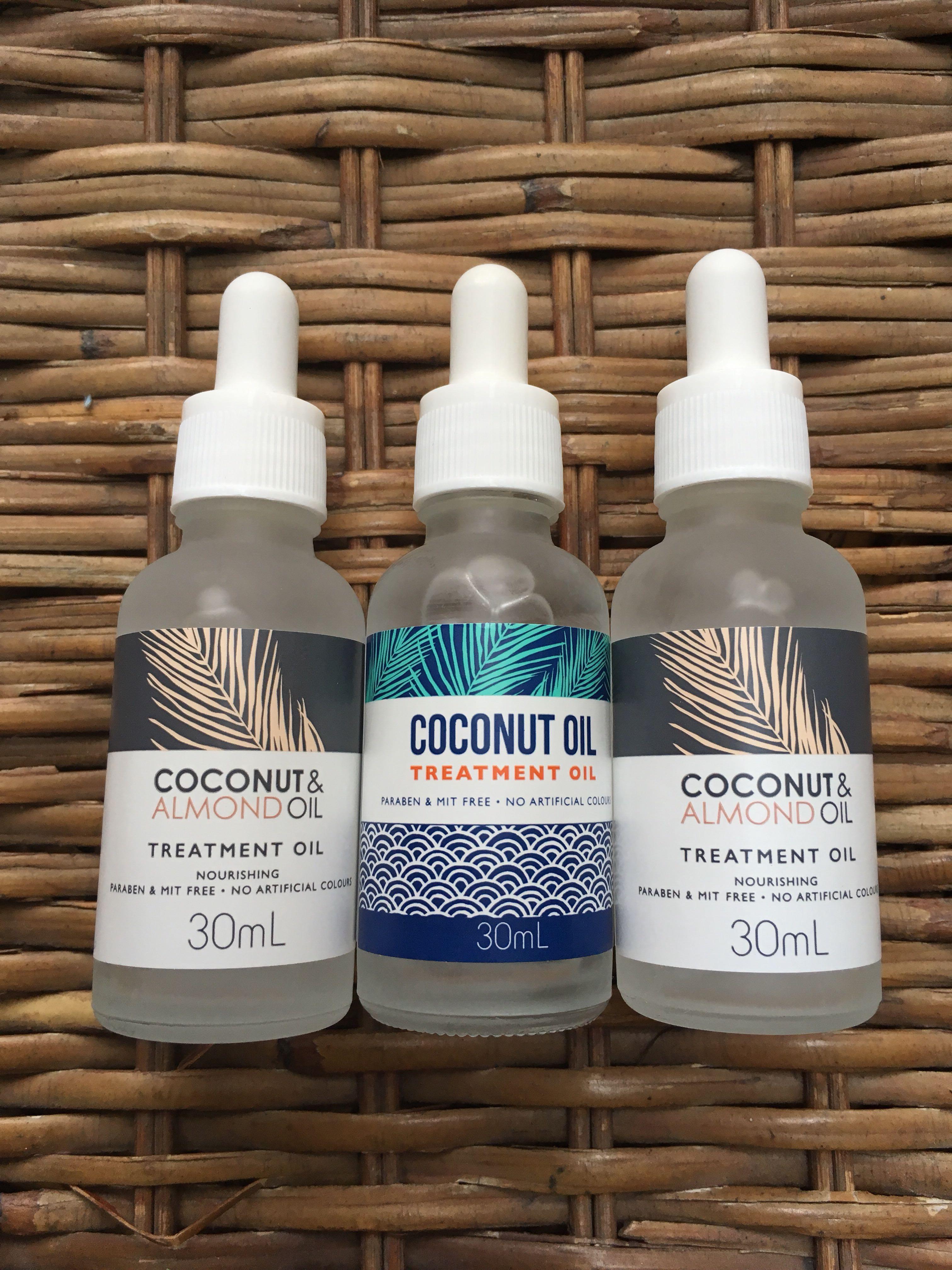 Coconut Almond Oil Hair Treatment Health Beauty Care On Makarizo Energy 60g X 4 Sachet Carousell