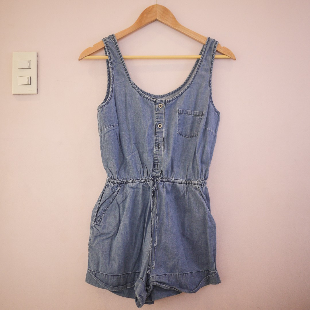 9c8d0fd0fd3 Forever 21 Denim One-Piece   Jumper   Overall - Shorts