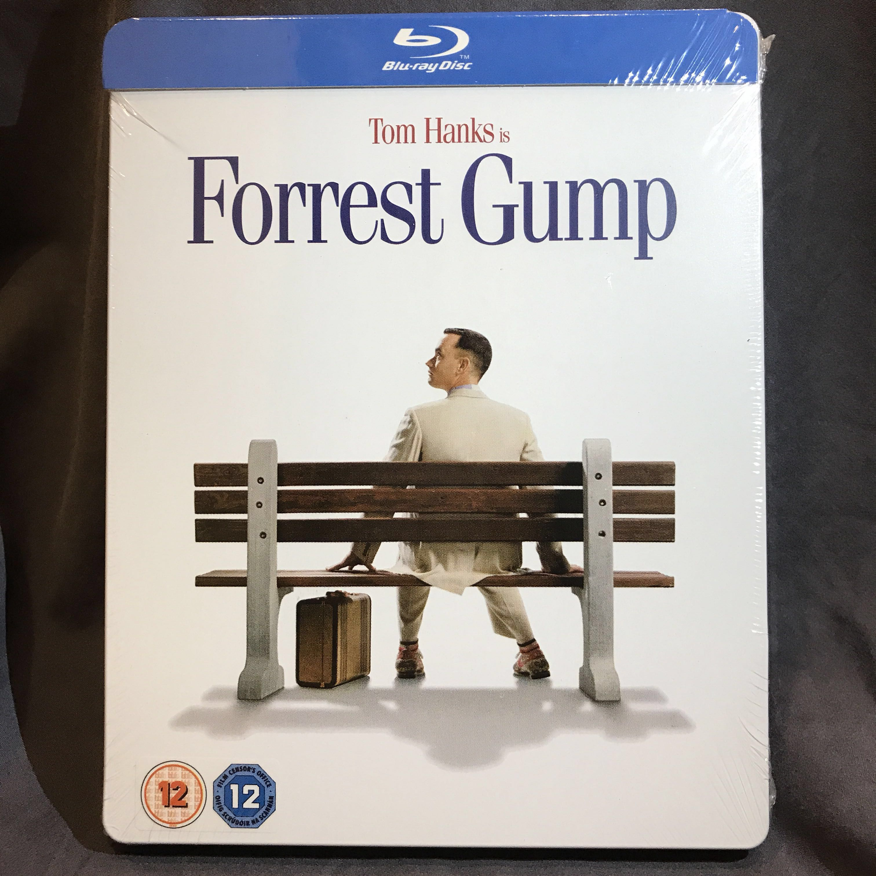 FORREST GUMP Blu-ray PLAY EXCLUSIVE STEELBOOK UK | PARAMOUNT CENTENARY EDITION Bluray OOP