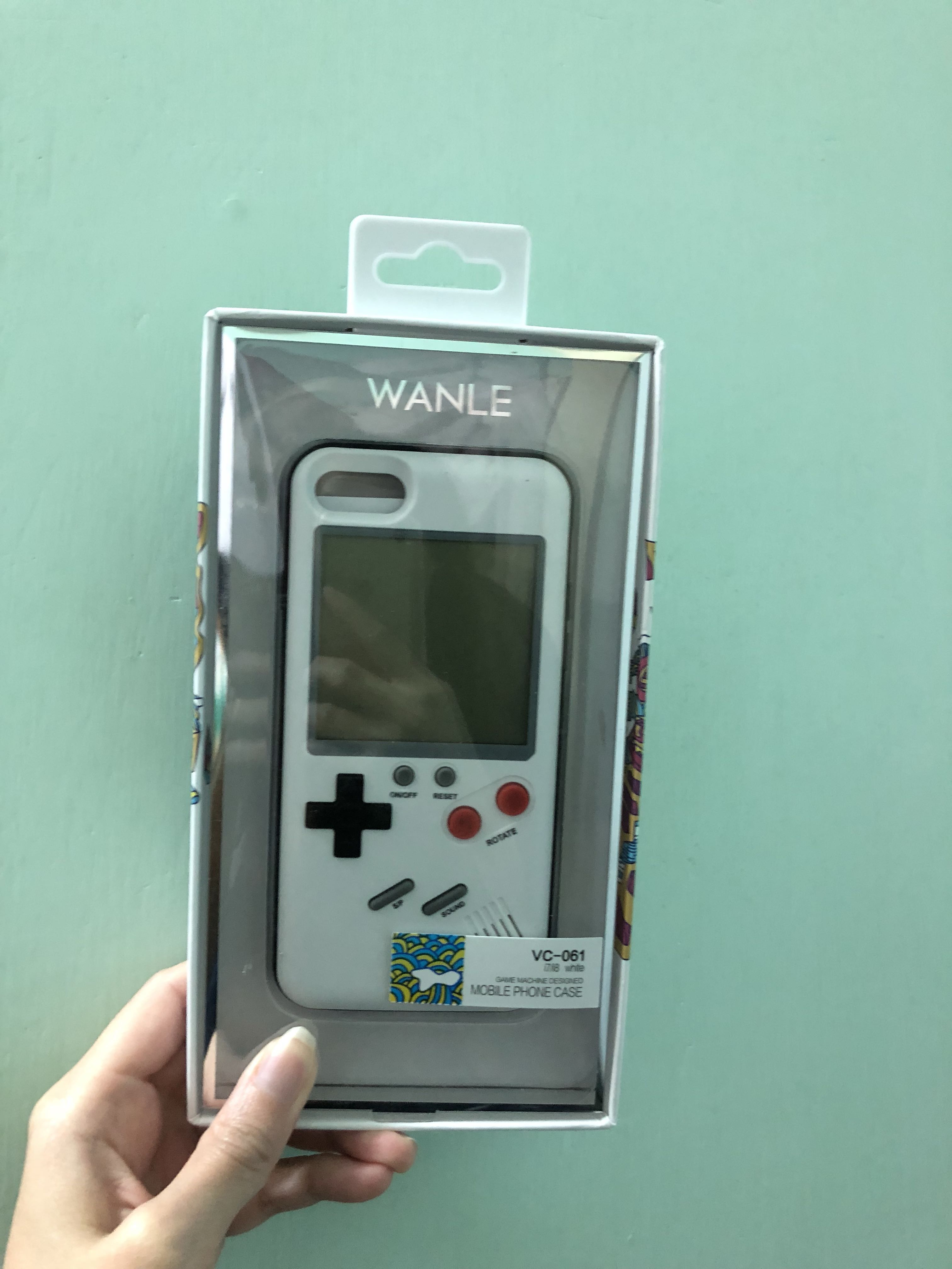 Gameboy playable IPhone 7/8 case