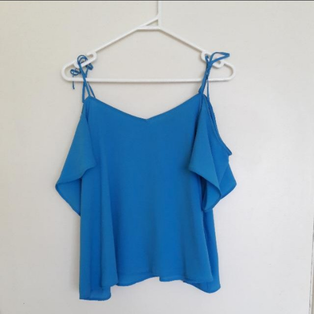 GLASSONS BLUE TOP