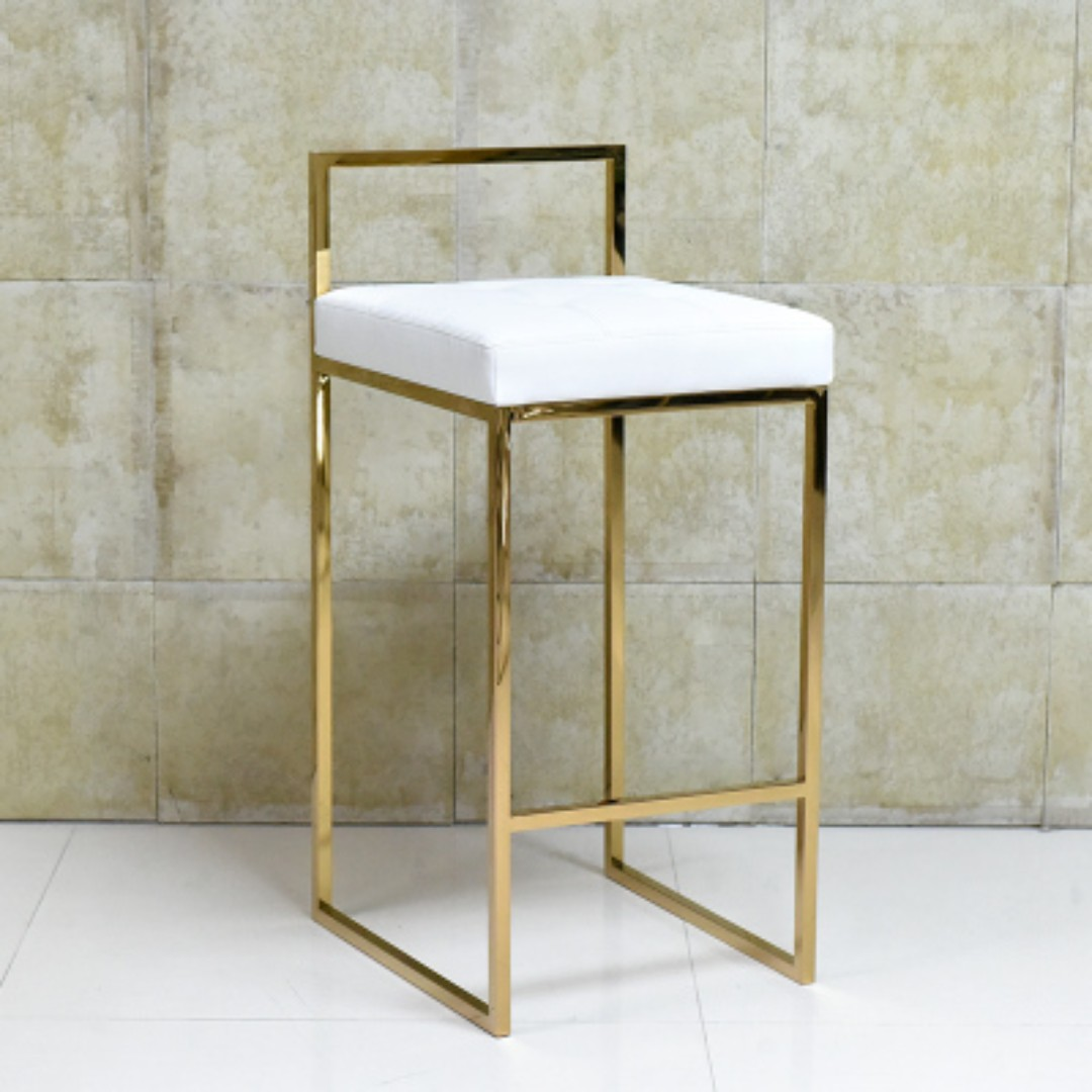 Gold High Chair Bar Stools Furniture Tables Amp Chairs