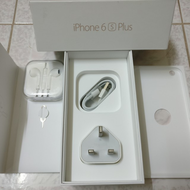 (NEW)IPHONE 6S+ BOX &ALL ACCESSORIES INCLUDED