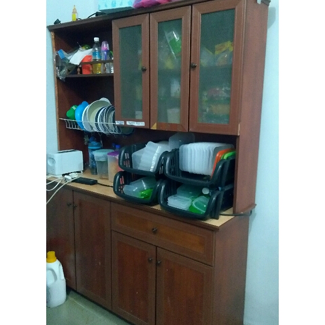 Kabinet Dapur Rak Rack Kitchen Home Furniture On Carou