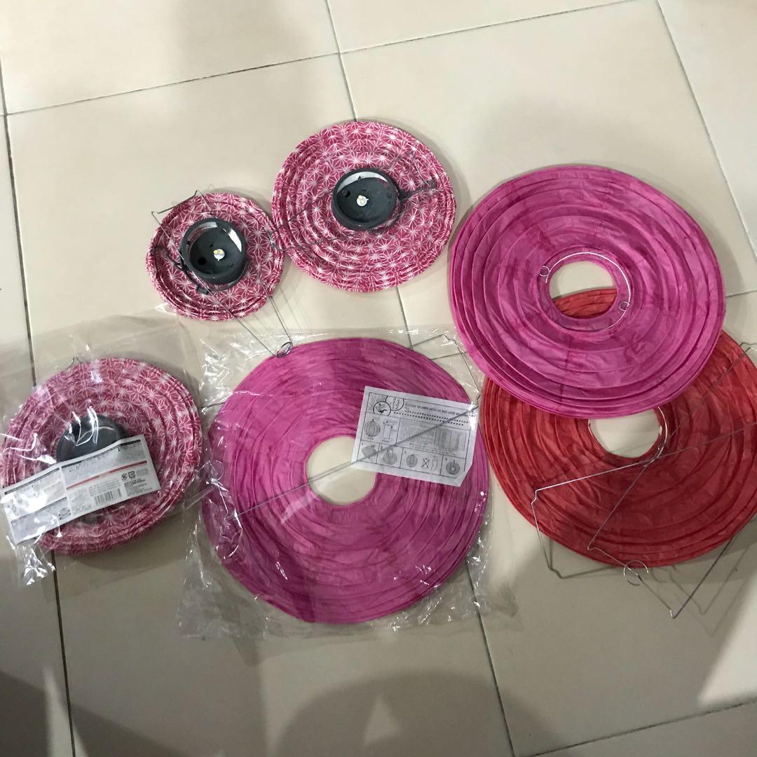 Lantern - pink