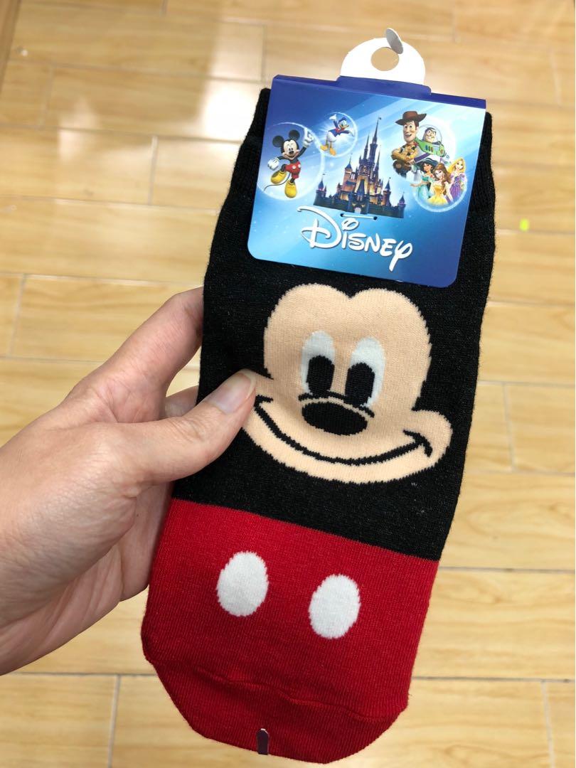 Mickey & Minnie Socks (2 pairs)