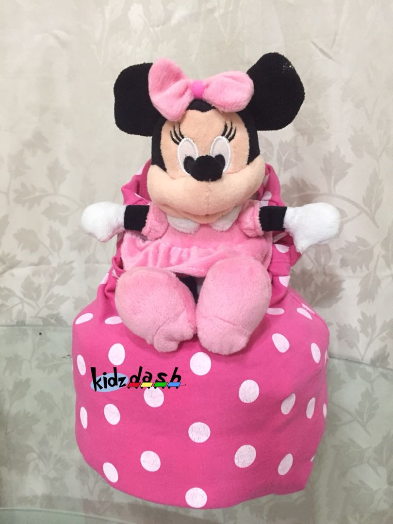 Minnie on Couch Diaper Cake
