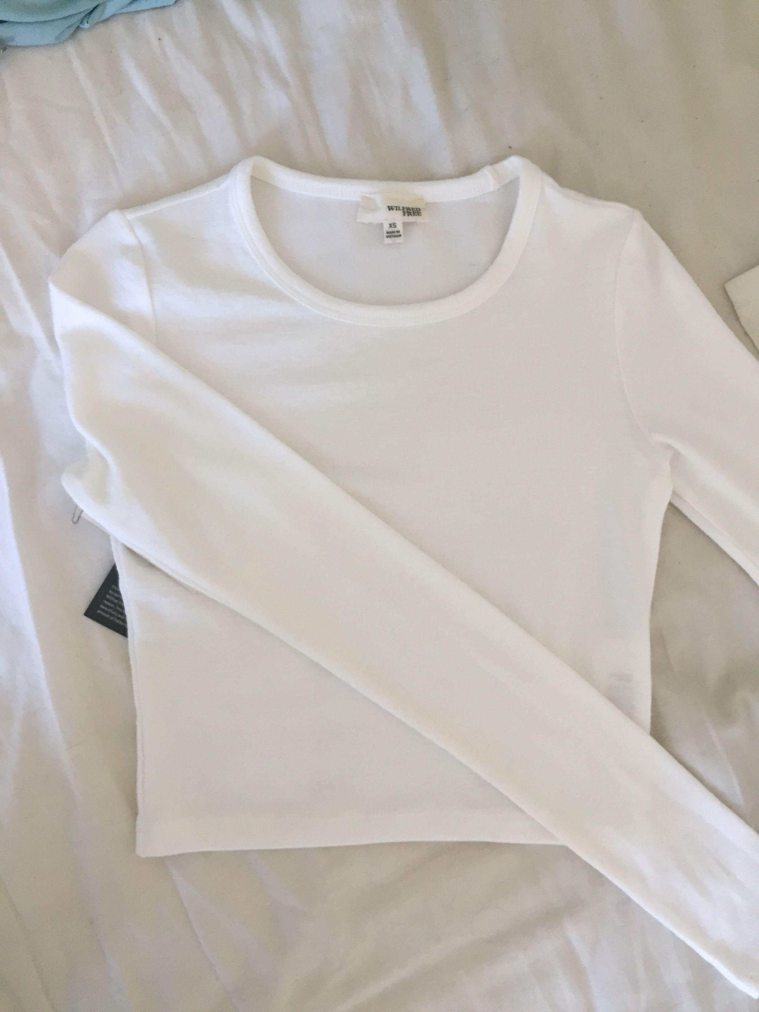 New Aritzia Cropped Shirt