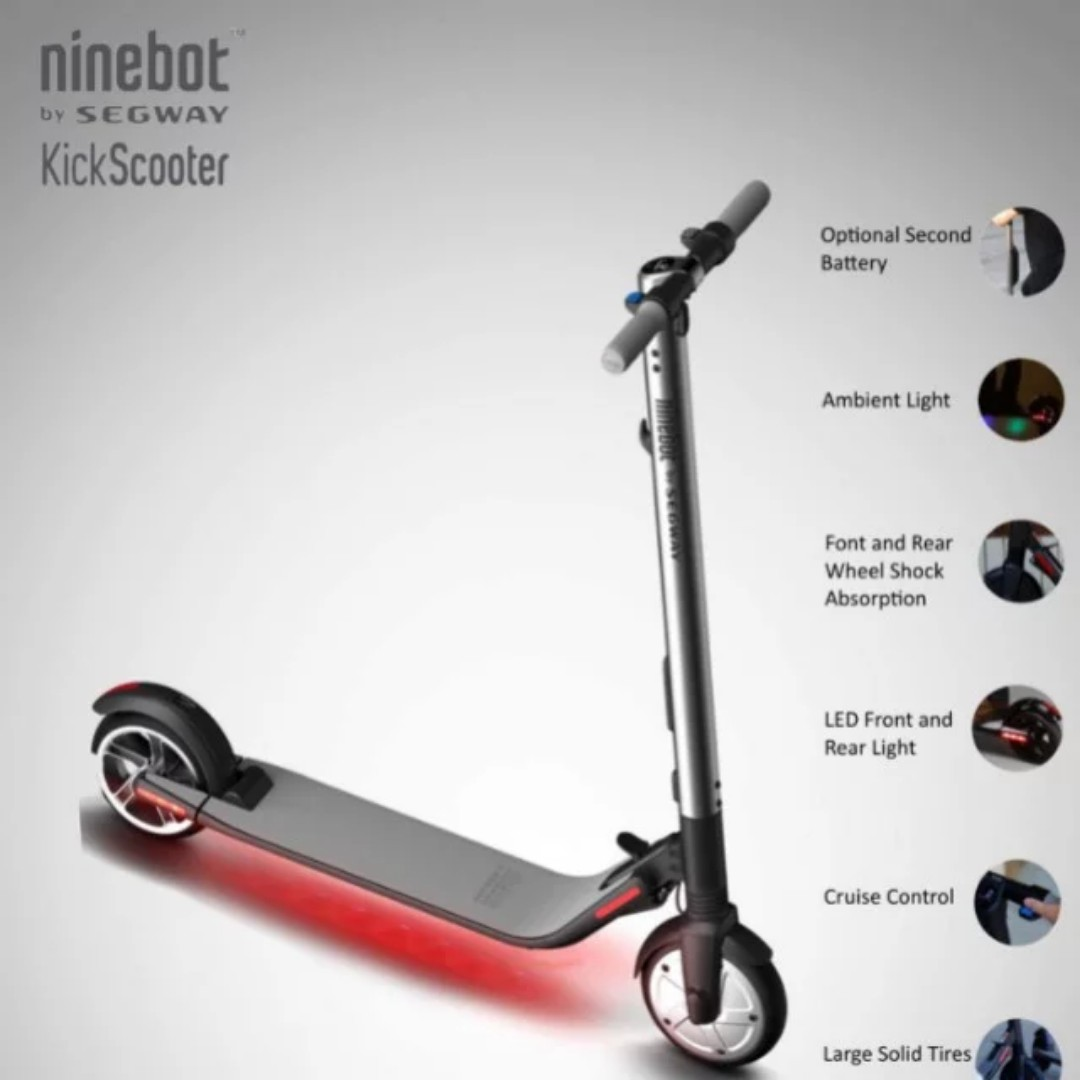 Ninebot Kick Scooter ES2 by Segway, Bicycles & PMDs