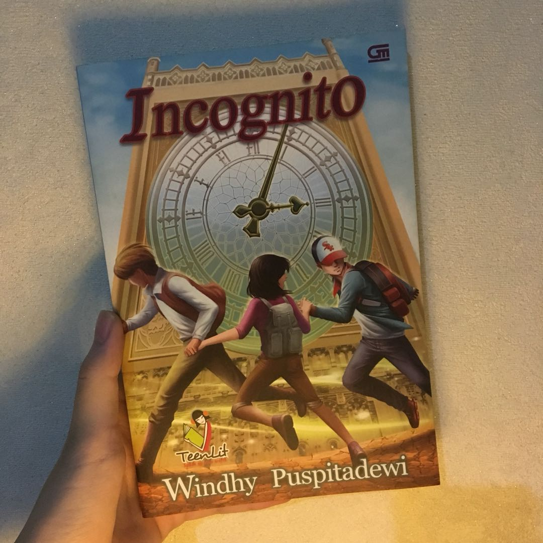 Novel Preloved. Incognito by Windhy Puspitadewi (Gramedia)