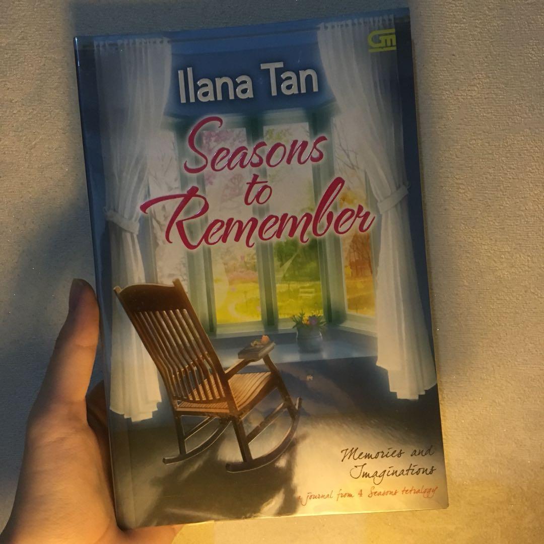 Novel Preloved. Seasons to Remember by Ilana Tan (Gramedia)