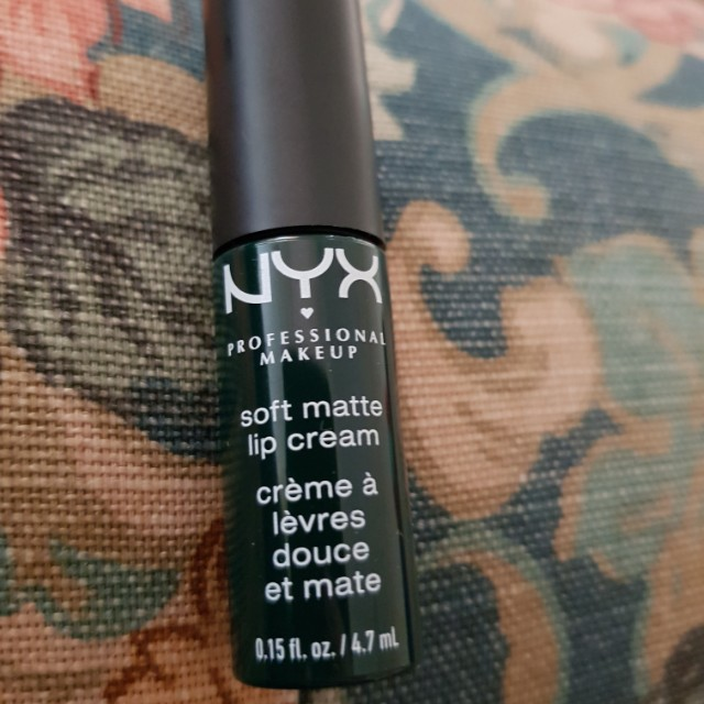 "NYX soft matte lip cream ""Las Vegas"" deep green brand new sample size"