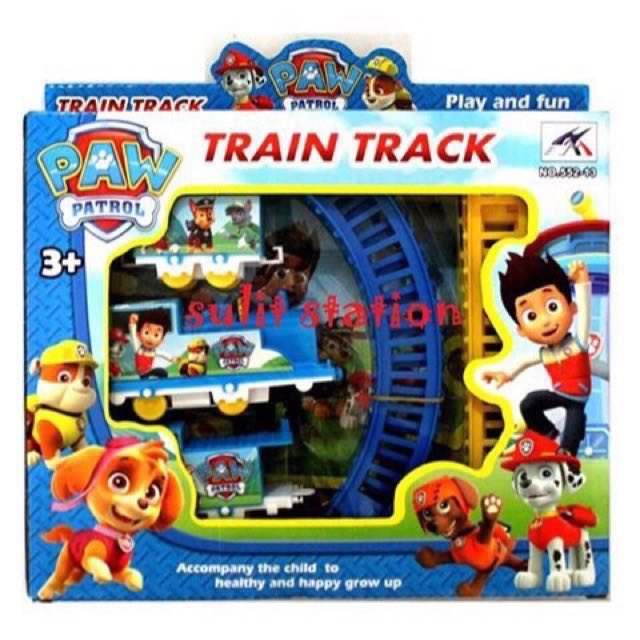 PAW PATROL BATTERY OPERATED TOY TRAIN 8264f3d3e2