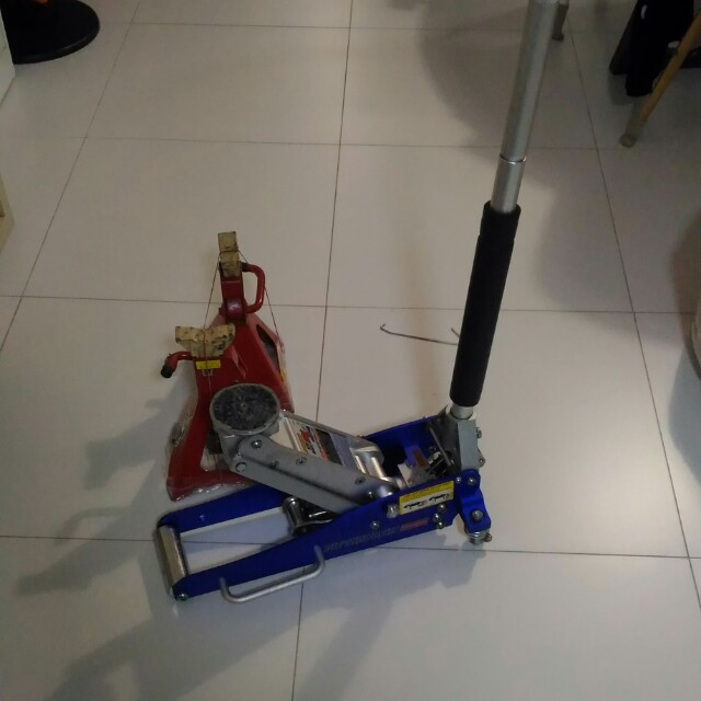 Pittsburgh Racing 1 5ton Floor Jack Rapid Pump Car Accessories On