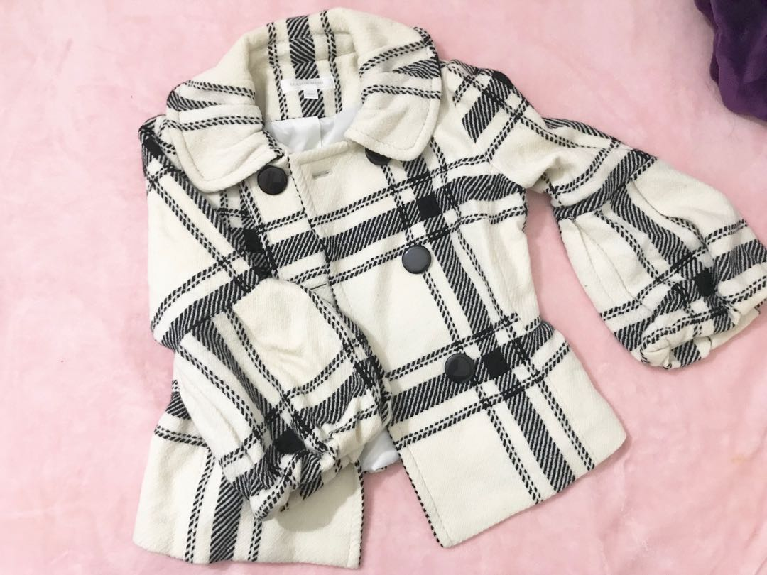Plaids Winter Jacket
