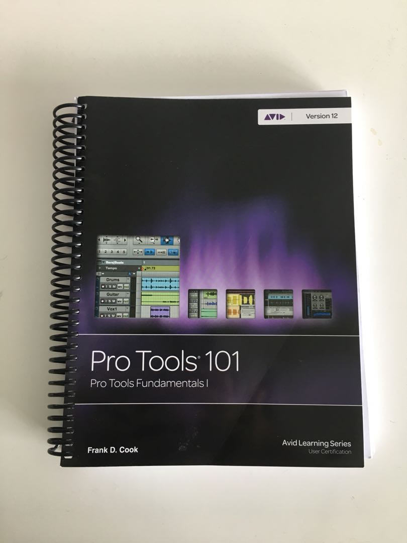 Pro Tools 101 - 2017