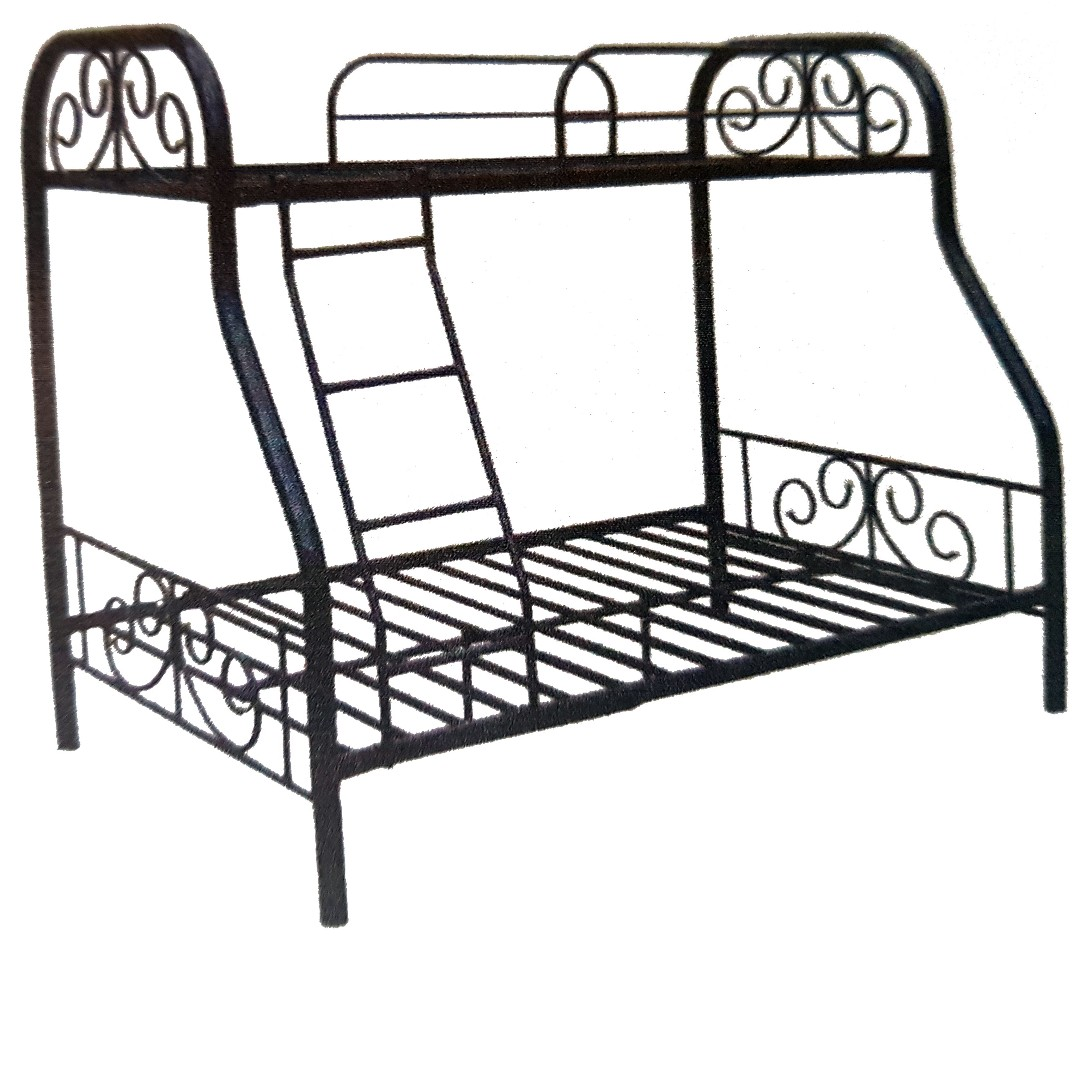 R Type Double Deck Steel Frame (Queen Size), Home & Furniture on ...