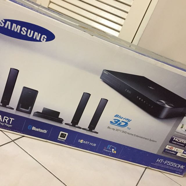 Samsung HT-F5550HK 3D Blu-ray Smart Home Entertainment Syste
