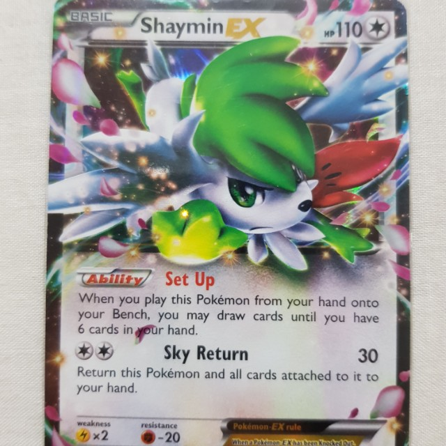 Shaymin Ex Toys Games Board Games Cards On Carousell