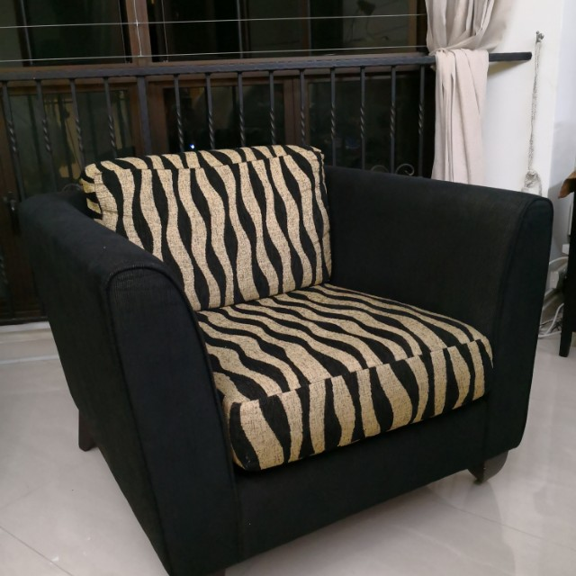 Sofa Chair Single Furniture Sofas On Carousell