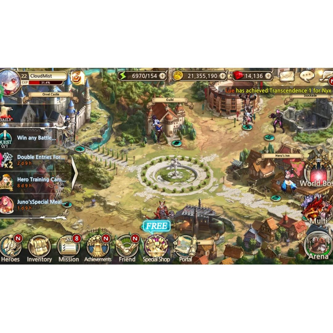 Starter King Raid Toys Games Video Gaming On Carousell Garena 50k Photo