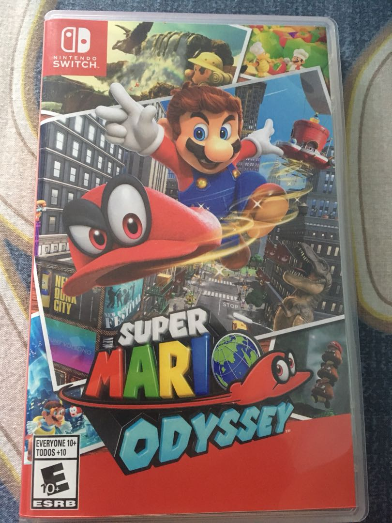 Super Mario Odyssey Toys Games Video Gaming On Ps4 Tekken 7 Region 3 Bonus Lego Carousell