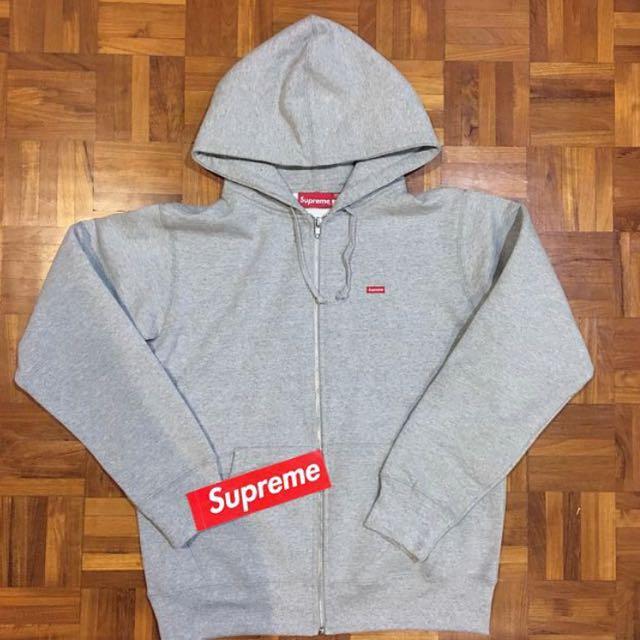 2bcb4ef6e25a Supreme Small Box Zip Up Sweatshirt Hoodie