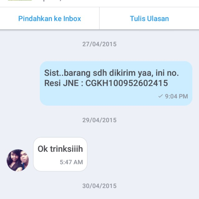 Thank you dear customer 😙😙