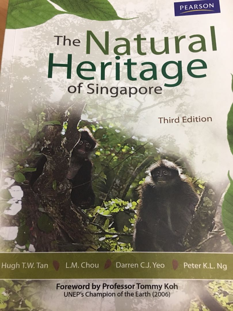The natural heritage of Singapore textbook (third edition