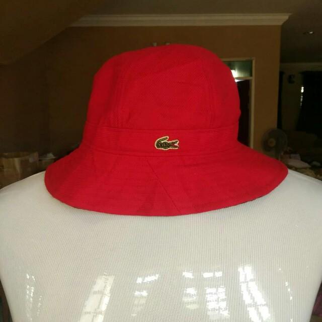 6970ad22b Vintage Lacoste Bucket Hat