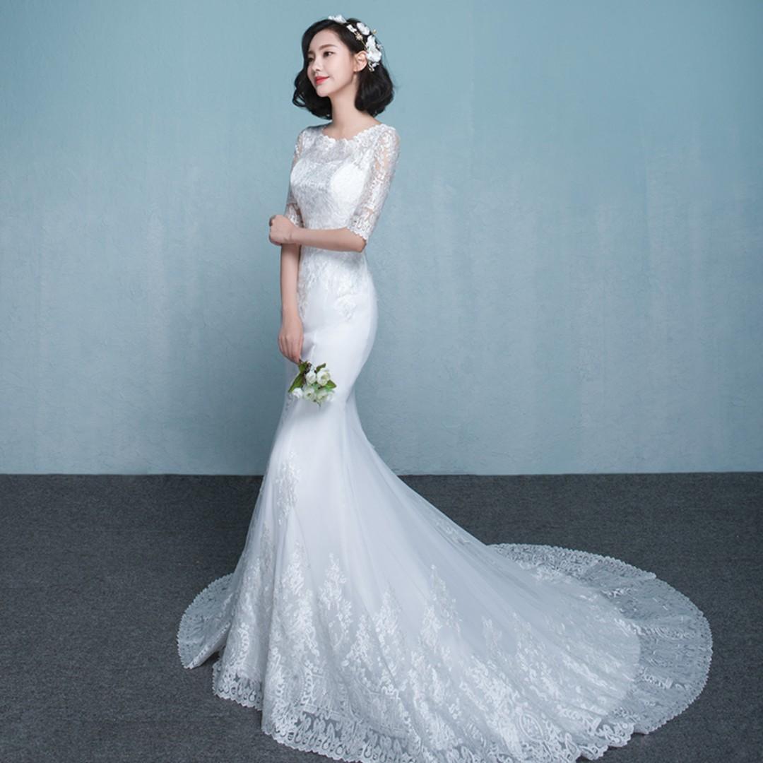 Luxury Korean Bridal Gowns Model - All Wedding Dresses ...
