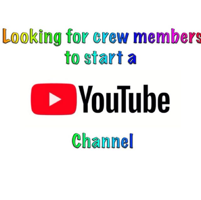 YouTube crew and video editor, Jobs, Internships & Others on Carousell