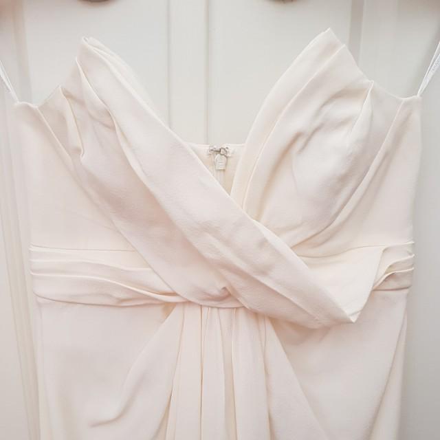 ZIMMERMANN silk strapless dress size 0