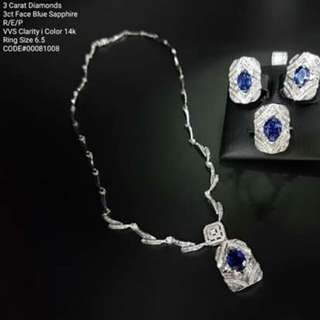 Real Diamond Sets in Hk Setting
