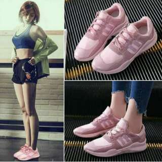 Nude Pink Rubber Shoes