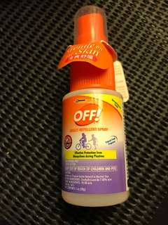 OFF! Mosquito Repellent Free Mail