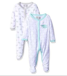*6M* Brand New Luvable Friends Sleep And Play For Baby Boy