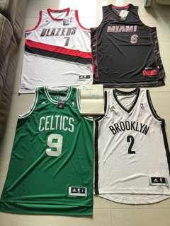 NBA Adidas Jersey 少有款式