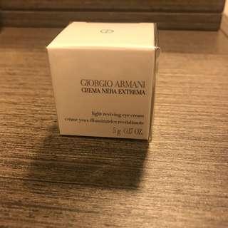 Armani eye cream。