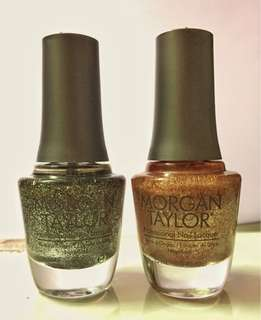 Morgan Taylor UK Nail Lacquer [2 bottles]