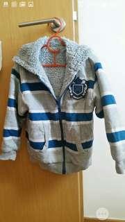 Chickeeduck fleece hooded jacket (4 to 5 year old)