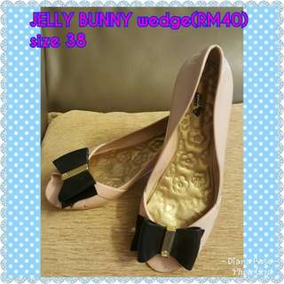 JELLY BUNNY open toe wedges
