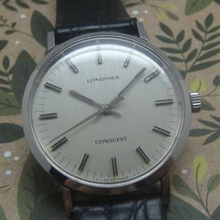 LONGINES CONQUEST 17 JEWELS HAND WINDING WATCH