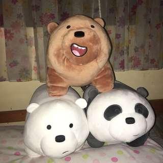 We Bare Bears Panda Grizz Ice Bear