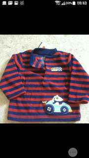 free mail: carter's baby pullover fleece 6 to 9 months