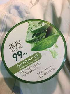 the face shop aloe vera gel 99%