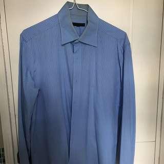 G2000 Shirt, size M, 領圍15 1/2, 袖長 33 1/2
