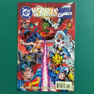 DC Versus Marvel No. 4 comic